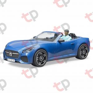 Jucărie - Mașină Roadster decapotabilă cu șofer [1]