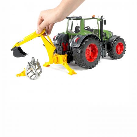Jucărie - Braț Excavator cu Graifer și Cupă [3]