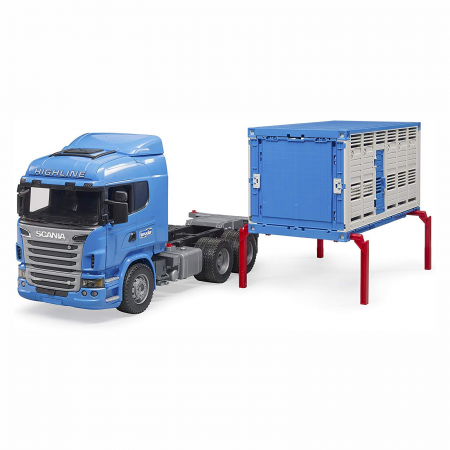 Camion Scania seria R pentru transport animale [3]