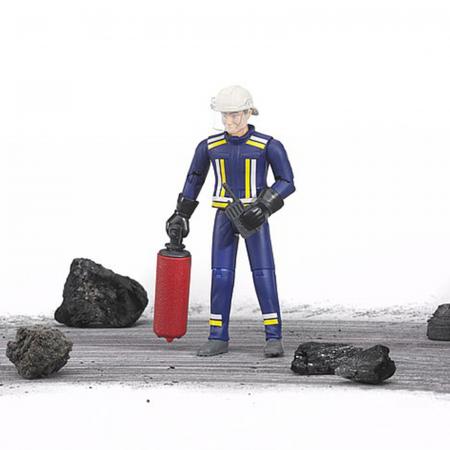 Jucărie - Figurină pompier cu accesorii [1]
