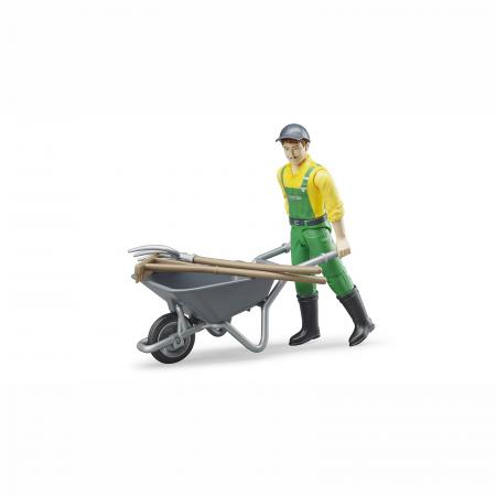 Figurina agricultor cu accesorii [0]