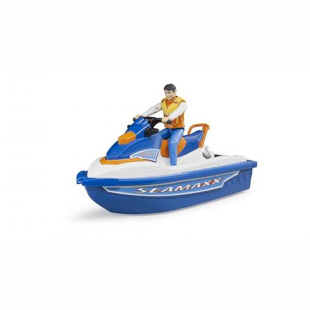 Jet ski cu figurină bărbat [0]