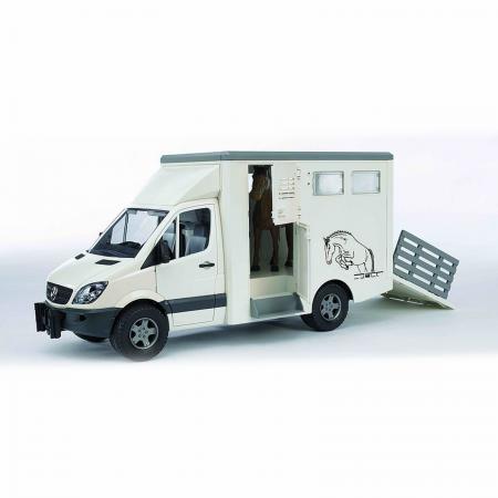Mașină transportator animale MB Sprinter cu 1 cal [2]