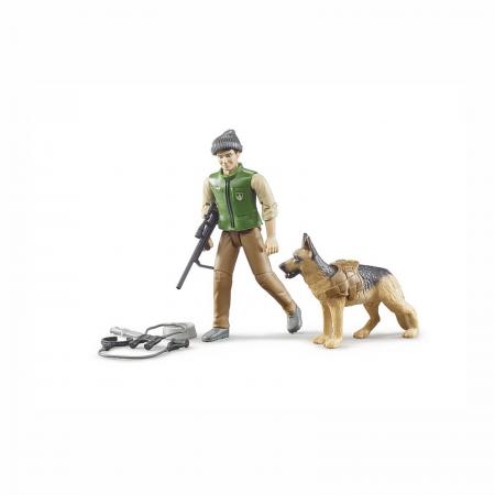 Jucărie - Pădurar cu câine și echipament [2]