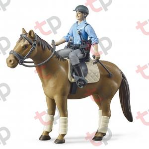 Jucărie - Polițist pe cal [0]