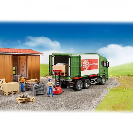 Jucărie - Set figurină lucrător magazie cu accesorii [1]