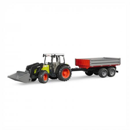 Jucărie - Tractor Claas Nectis 267F cu remorcă basculabilă și încărcător frontal [3]