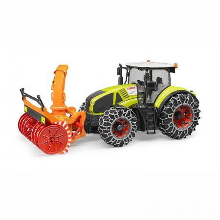 Jucărie - Tractor cu Lanțuri de Zăpadă și Freză Claas Axion 950 [0]