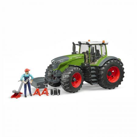 Tractor Fendt 1050 Vario cu figurină mecanic și accesorii [0]