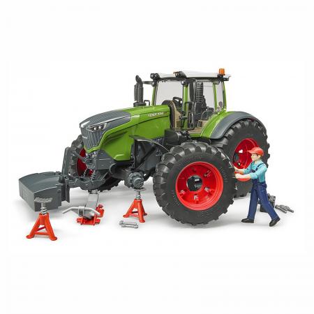 Tractor Fendt 1050 Vario cu figurină mecanic și accesorii [1]