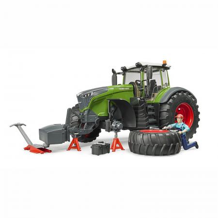 Tractor Fendt 1050 Vario cu figurină mecanic și accesorii [2]