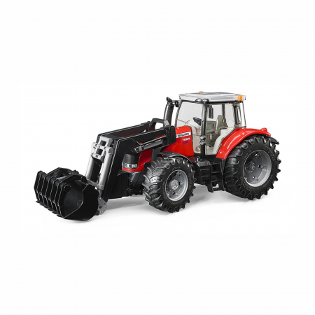 Jucărie - Tractor Massey Ferguson 7624 cu Încărcător Frontal [0]