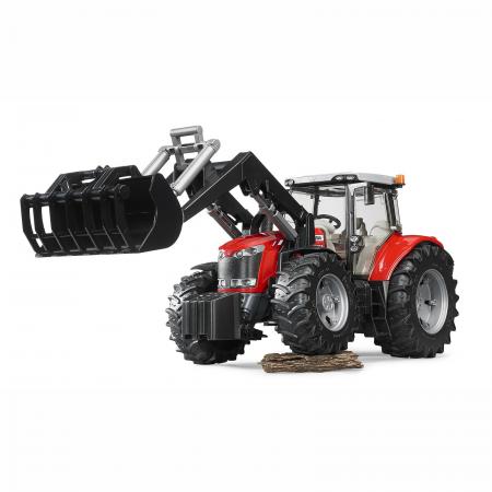 Jucărie - Tractor Massey Ferguson 7624 cu Încărcător Frontal [2]