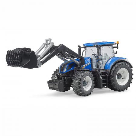 Jucărie - Tractor New Holland T7.315 cu Încărcător Frontal [0]