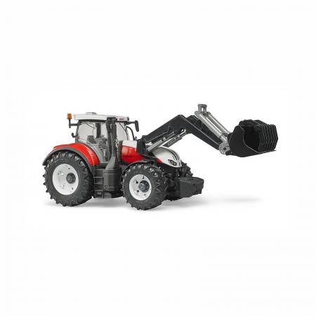 Jucărie - Tractor Steyr 6300 Terrus CVT cu Încărcător Frontal [3]