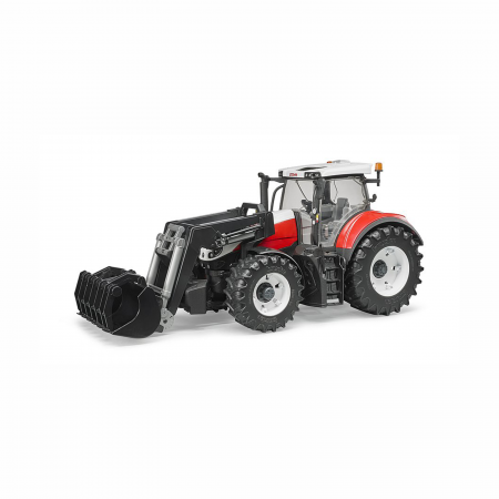 Jucărie - Tractor Steyr 6300 Terrus CVT cu Încărcător Frontal [2]