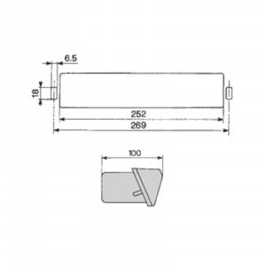 Lampă semnalizare spate - dreapta [2]