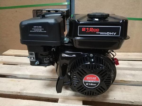 Motor OHV 7CP - DUCAR 212CC 170F-1 DH212 Benzină 2