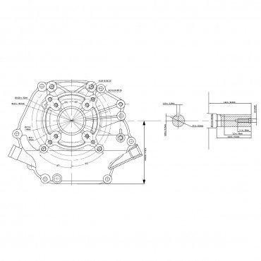 Motor OHV 7CP - DUCAR 212CC 170F-1 DH212 Benzină 3