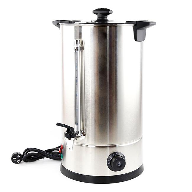 Fierbator (boiler) electric din inox pentru bauturi 12 litri 4