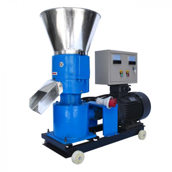 Granulator furaje KL-250 cu 3 matrite motor 11 kw/1500RPM/capacitate 400kg/h cu 3 matrite 3