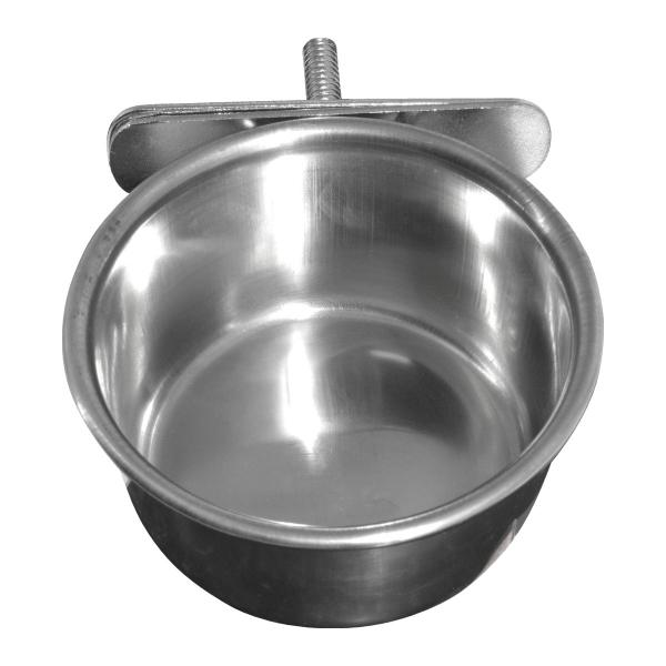 Hranitoare pasari inox 450ML 2