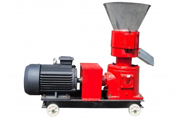 Granulator furaje KL-200 (cu motor) 4