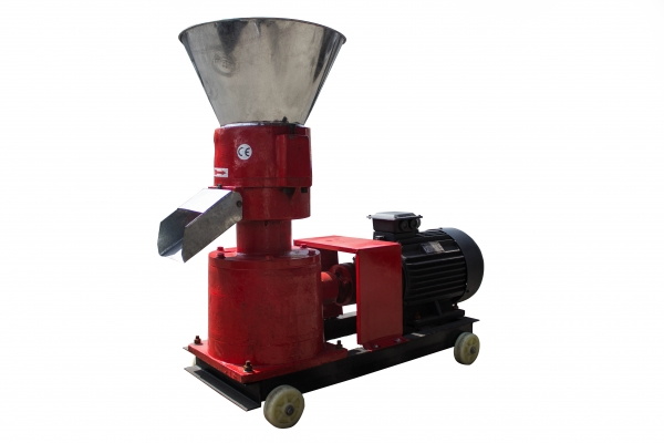 Granulator furaje KL-200 (cu motor) 2