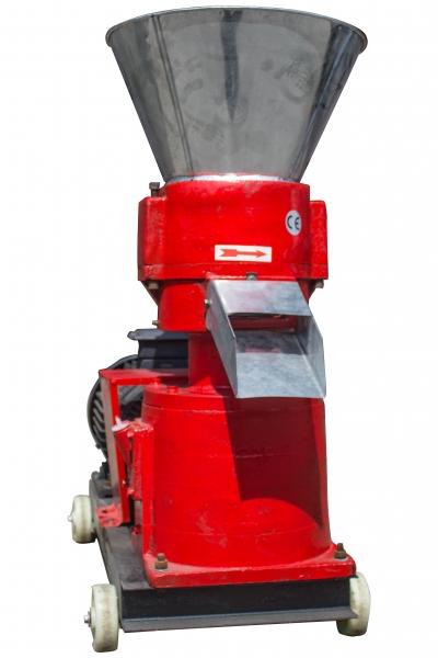 Granulator furaje KL-200 (cu motor) 3