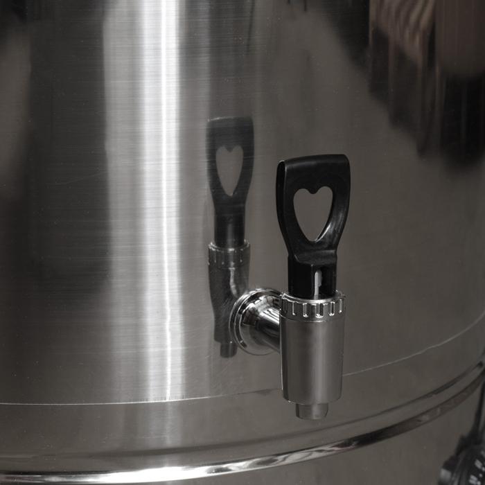 Mașină de opărit pasari 80 litri inox 4 kw  eco [4]