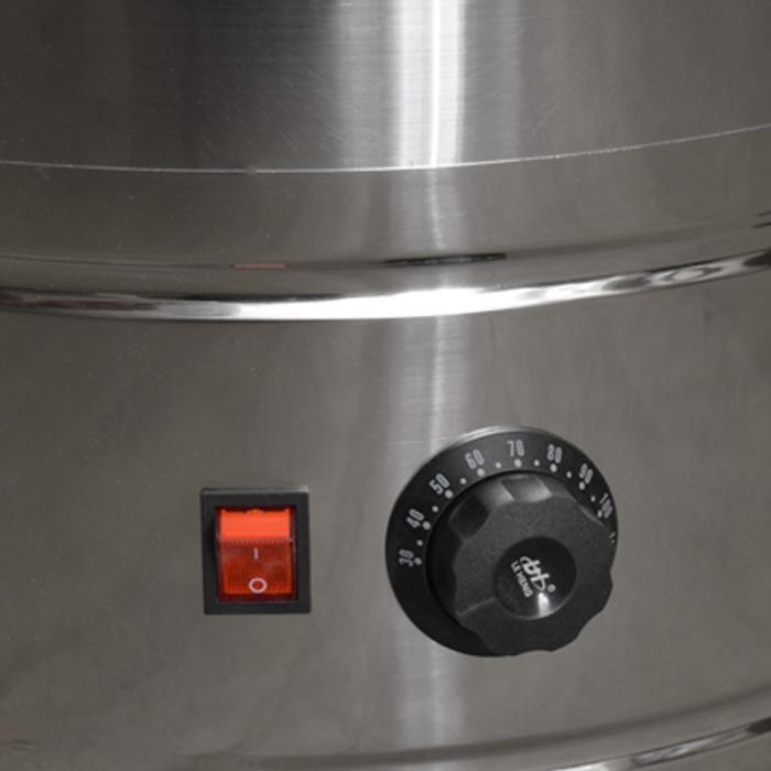 Mașină de opărit pasari 80 litri inox 4 kw  eco [2]
