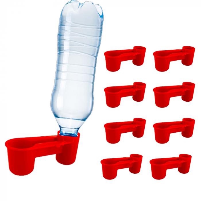 Adăpătoare pentru pui cu capac pentru sticlă [0]