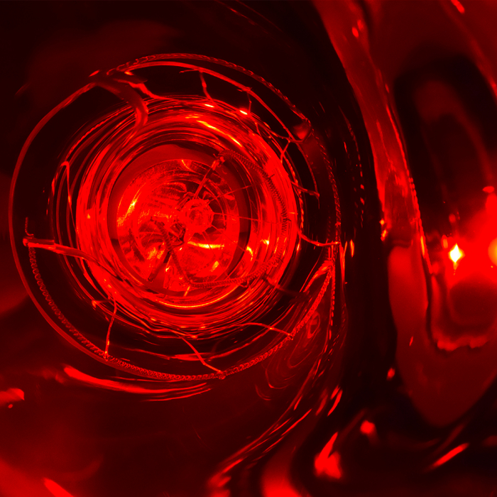 Bec infrarosu rosu inchis complet 100W [4]