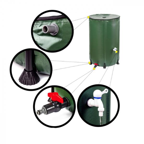 Rezervor de apă de ploaie 380 L 2