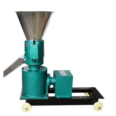 Granulator Furaje KL-120 motor 3kw/1500 RPM/230V/80kg/h cu 3 matrite (fara motor)5