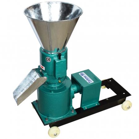 Granulator Furaje KL-120 motor 3kw/1500 RPM/230V/80kg/h cu 3 matrite (fara motor)2