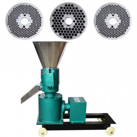 Granulator Furaje KL-120 motor 3kw/1500 RPM/230V/80kg/h cu 3 matrite (fara motor)0