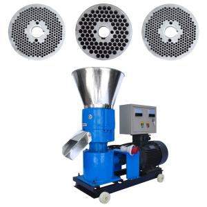 Granulator furaje KL-250 cu 3 matrite motor 11 kw/1500RPM/capacitate 400kg/h cu 3 matrite0
