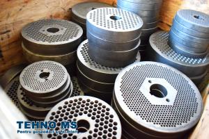 Granulator furaje KL-250  motor 11 kw/1500 RPM/ 400kg/h (fara motor)7