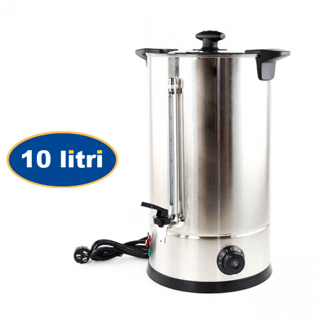 Fierbator (boiler) electric din inox pentru bauturi 10 litri [0]