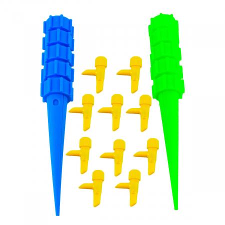 Set 10 bucati sistem reglabil de irigare prin picurare [0]