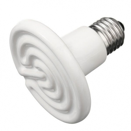 Bec infrarosu ALB ceramic, emitator de caldura pentru animale de companie [3]