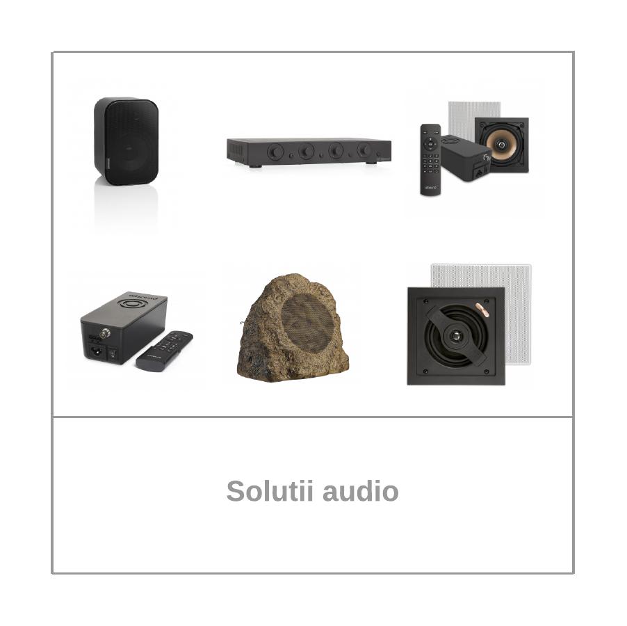 Solutii audio