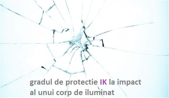 Cum alegem gradul de protectie IK al corpurilor de iluminat? Gradul de protectie IK sau protectia la impact a lampii.
