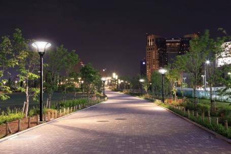 Lampa iluminat stradal led indirect 45 Intelight 96837 42W     [6]