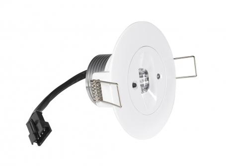 Lampa antipanica led Intelight 99616 3W  3h mentinut/nementinut test manual 1