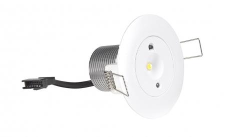 Lampa antipanica led Intelight 99616 3W  3h mentinut/nementinut test manual 0