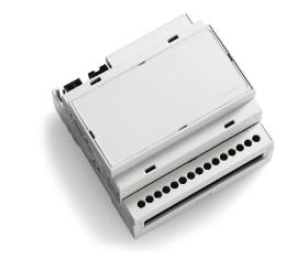 TVSPOT868ADI04 - Controller led , 350mA, 1 culoare, 4 iesiri independente, montare sina DIN [0]