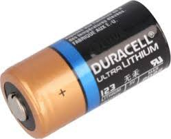 Baterie Litiu 3V CR123A [0]