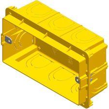 Doza aparataj modular 4M incastrata in tencuiala DM40 [0]